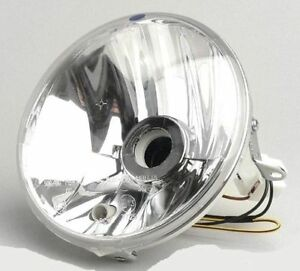Vespa-PX-125-150-200-Disc-Clear-Halogen-Headlight-Unit-Genuine-Piaggio-Part