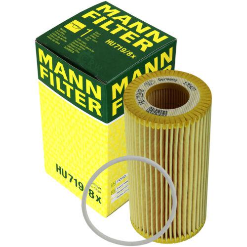 Original Homme-Filtre Filtre à huile Clé Hu 719//8 x Oil Filtre