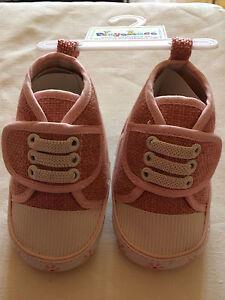 Playshoes Babyturnschuh Pink mit Klettverschluss Gr. 17 - Neu