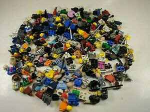 1-2-Lb-of-Assorted-LEGO-Minifigures-Minifigs-amp-Accessories-LOT-star-wars-668