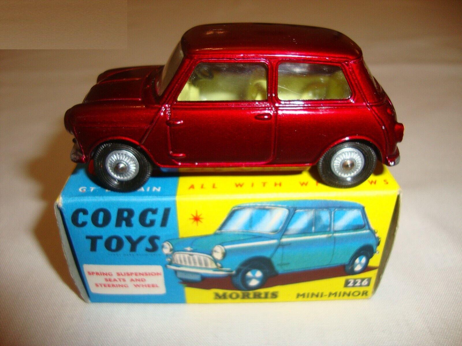 Corgi 226 morris mini minor-excellent dans boîte d'origine