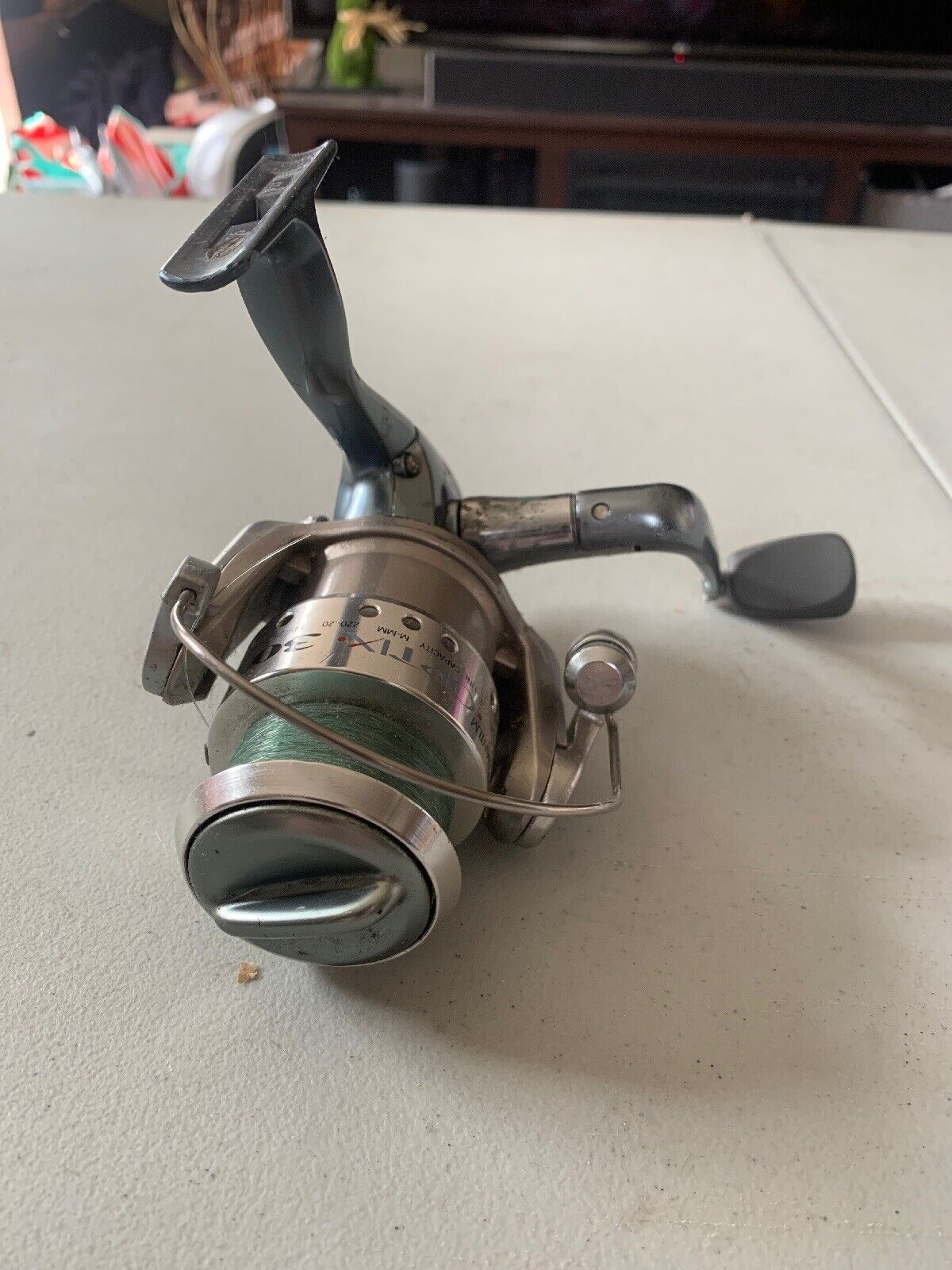 3 + Clutch Quantum Optix Spinning Fishing Reel Continuous Anti-Reverse with Smooth 4 Bearings Precisely-Aligned Gears Size 20
