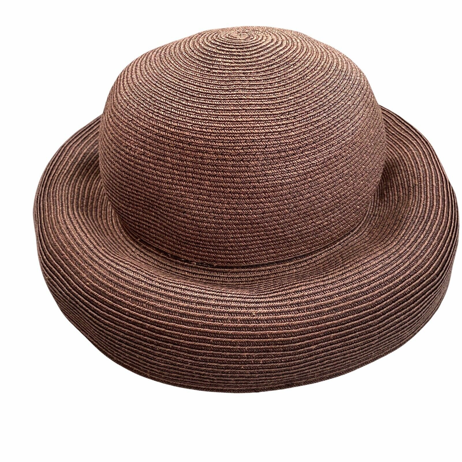 Eric Javits Squishee Packable Straw Hat Wide Brim… - image 5