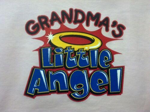 Grandma/'s Little Angel Lap Shoulder Creeper The Best Newborn To 24 Mos