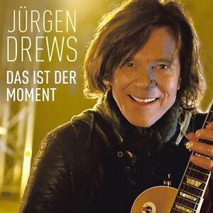 JURGEN-DREWS-DAS-IST-DER-MOMENT-2-TRACK-CD-SINGLE-NEU