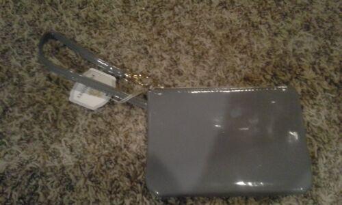 Pure Honey storage purse wristlet perfect for photos or makeup Grey