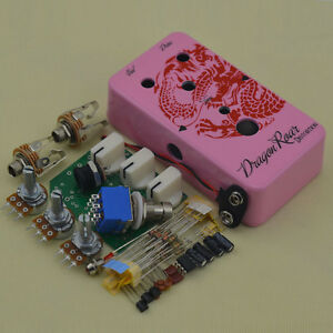 DIY-Distortion-Effect-Pedal-All-Parts-with1590B-Aluminum-Stomp-box-and-DS-1-PCB