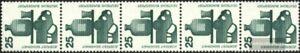 BRD-BR-Deutschland-697A-Ra-Fuenferstreifen-postfrisch-1971-Unfallverhuetung