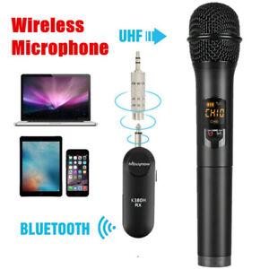 wireless bluetooth karaoke microphone speaker handheld usb player w receiver 6924517849645 ebay. Black Bedroom Furniture Sets. Home Design Ideas
