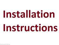 Installation Instructions Pottery Barn Clarissa Rectangular Lrg Chandelier .pdf