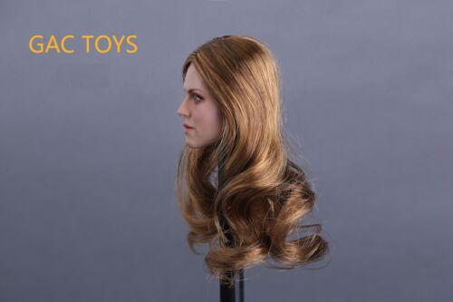 """1//6 American Female Head Sculpt C Pour 12/"""" PHICEN Hot Toys figure navire de USA"""