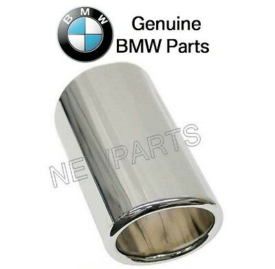 BMW E46 325i 330Ci 2001-2006 Passenger Right Chrome Exhaust Tip Genuine NEW