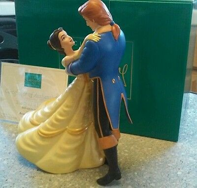 WDCC Beauty and the Beast #199 of 2000 Belle & Prince The Spell Is Lifted NLE