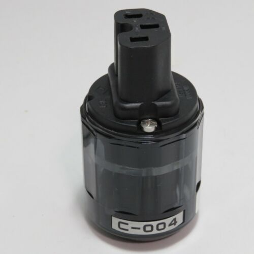 Oyaide C-004 Power Plugs IEC Connector from JAPAN