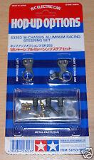 Tamiya 53253 M-Chassis Aluminum Racing Steering Set, M01/M01M/M01L/M02/M02M/M02L