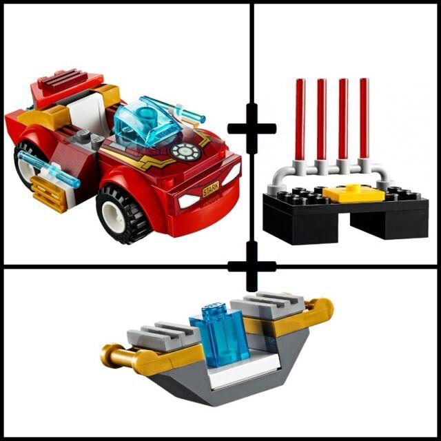 #10721 LEGO Marvel Super Heroes Iron Man vs. Loki split set (no minifigures