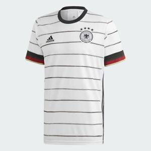 adidas 2020-21 Germany Home Jersey - White-Black   eBay