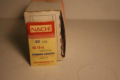 33 Nachi 6501 COBALT Jobbers Length Twist Drill #33 Drill 10-PACK 1060228 No