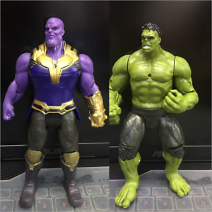 2Pcs-6-039-039-Marvel-Avengers-3-Infinity-War-Movable-Joints-Thanos-Hulk-Action-Figure