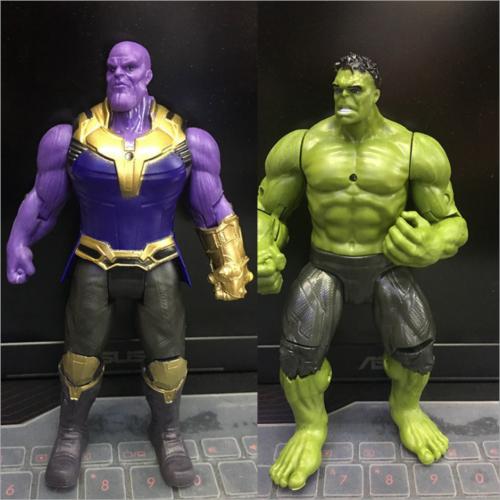 2PCS 6''Action Figure Marvel Avengers 3 Infinity War Movable
