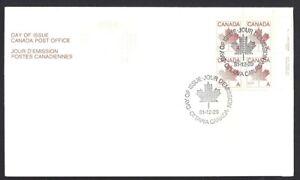 Canada-907-URpb-RED-MAPLE-LEAF-New-1981-Unaddressed