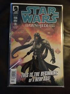 Star-Wars-Dawn-of-the-Jedi-Force-Storm-1-Newsstand-Variant-NM-Dark-Horse-Rare
