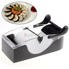 Cool DIY Easy Kitchen Roll Sushi Maker Cutter Roller Machine Gadgets US DE