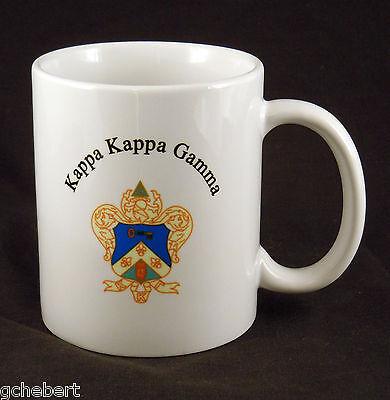 Kappa Kappa Gamma, ΚΚΓ, Crest Coffee Cup New