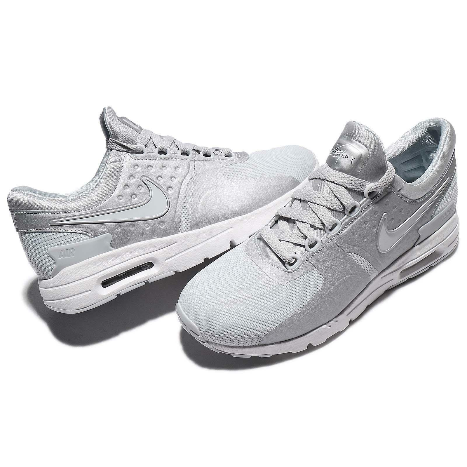 14ca2b635a4b Women s NIKE Air Max Zero RUNNING RUNNING RUNNING Shoes ALL SIZES Pure  Platinum (857661 013