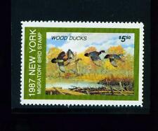 New York State Duck Stamp 1987 $5.50 at face value