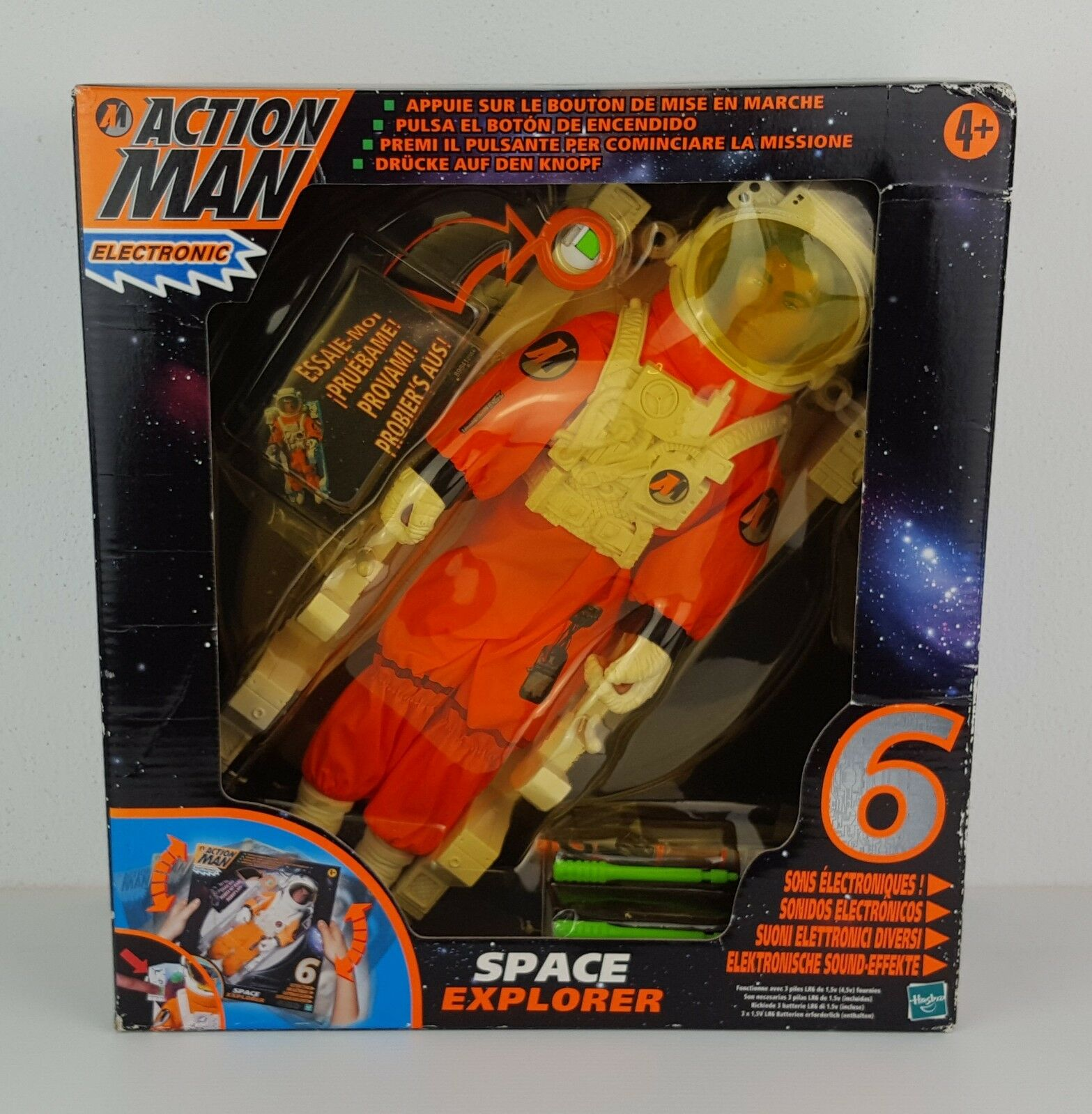 ACTION MAN ELECTRONIC SPACE EXPLORER - VINTAGE - NUOVO FACTORY SEALED
