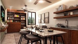 Departamentos con Casa Club en Merida, en venta. ¡Ecologicos!