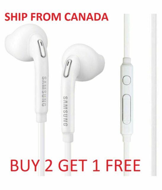 SAMSUNG GALAXY S6 EDGE S7 EDGE EARPHONES HEADPHONES HANDSFREE WITH MIC ORIGINAL