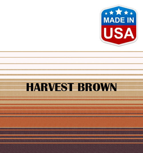 20' RV Awning Replacement Fabric for A&E, Dometic (19'3 ) Harvest Brown