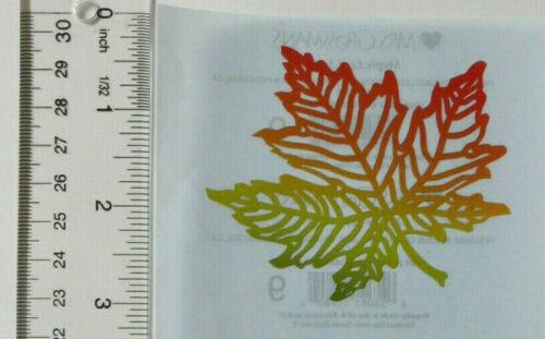 Half Sheet Laser-Cut Maple Leaf Stickers Mrs Grossman MAPLE LEAF Large