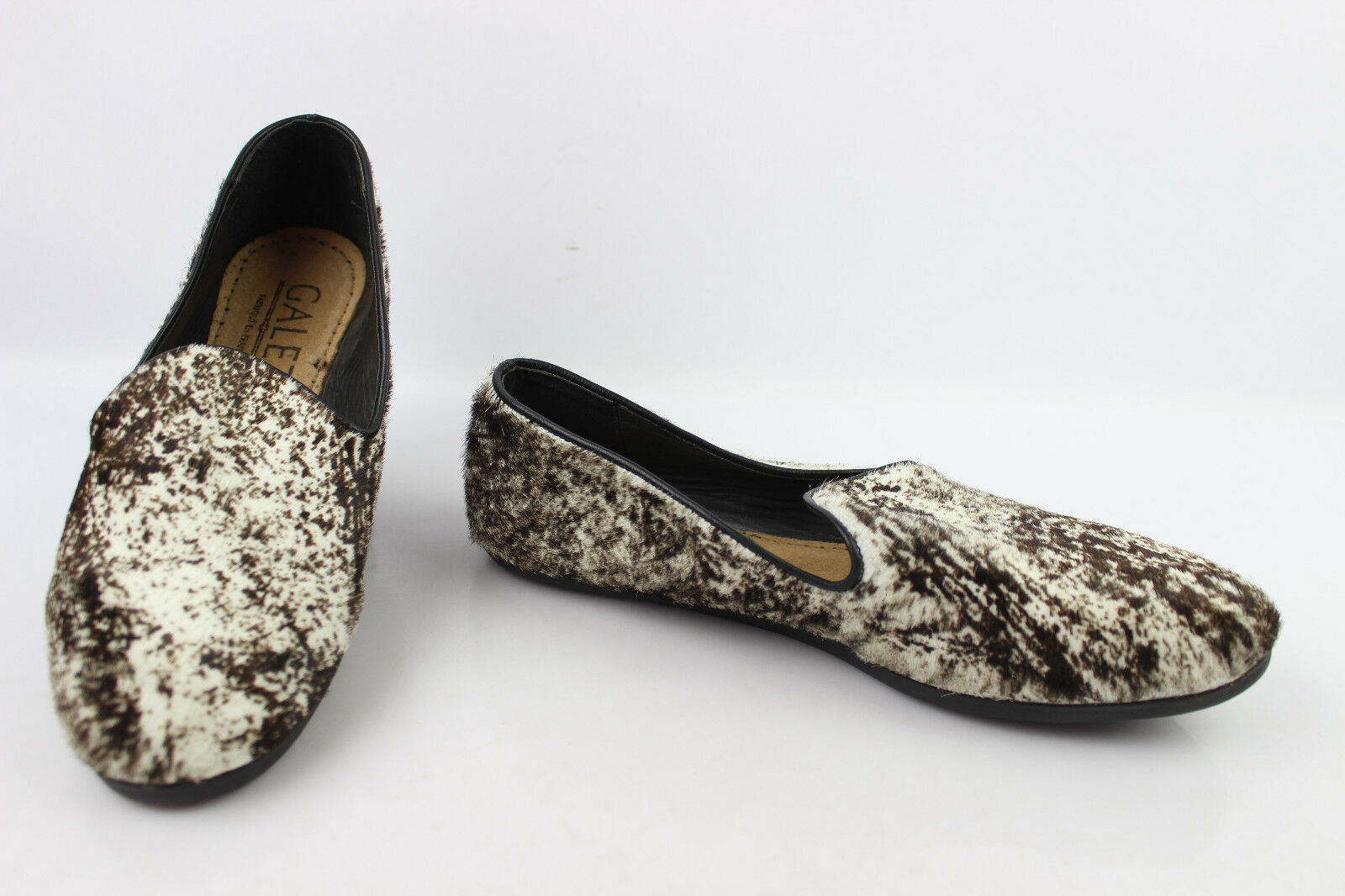 Mocassin Slippers Fur GALET Made in France T 39 VERY GOOD CONDITION