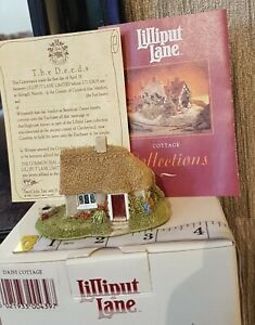 Lilliput-Lane-DAISY-COTTAGE-Collectible-Brand-New-with-Box-amp-Deed