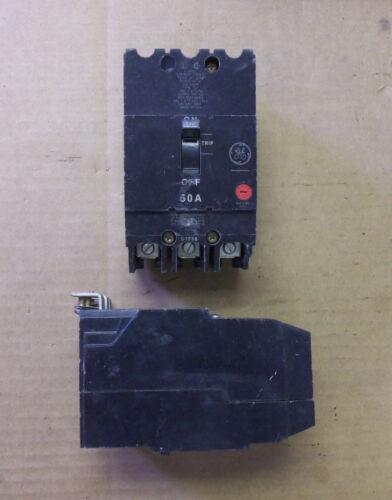 GE TEY TEY350 3 POLE 50 AMP 480//277V Circuit Breaker Flawed
