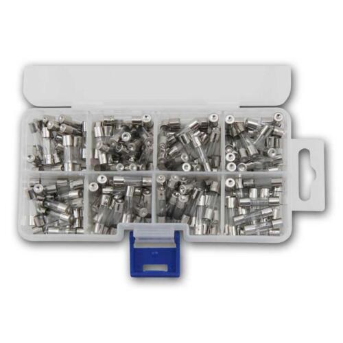 160 Stück Glassicherungen Sicherungen Feinsicherung Sortiment glass fuses set
