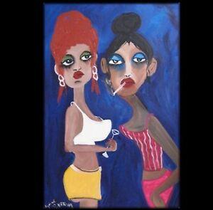 ART-OFFICE-GIRLS-commission-BEACH-PORTRAIT-Lynne-Pickering-23628-blue-fun