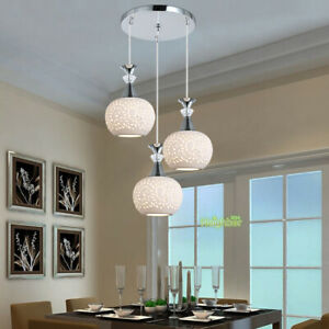 Details about Modern Ceramics Chandelier Dining Table Ceiling Fixtures  Hanging Pendant Lights