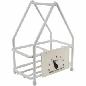 Delfinware-Wireware-White-2-Bottle-Milk-Carrier