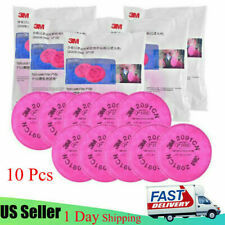 10pcs 5pairs 3m 2091 Filters Replacement For 6000 7000 Series Respirators Us