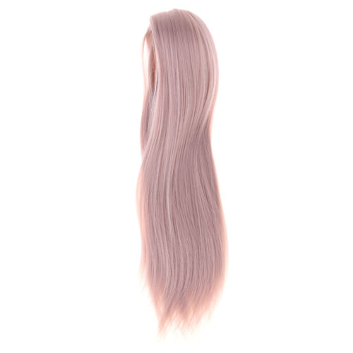 1//3 BJD Uncle Dolls Wig Long Straight Hair for Dollfie Doll DIY Dressed Up