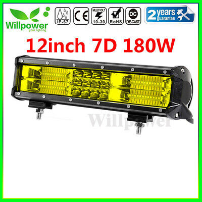 Philips 52inch 300W Led Light Bar Combo Off-Road SUV Boat UTE Ford Fog Jeep Slim