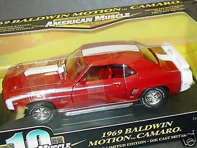 últimos estilos Ertl 1 1 1 18, 1969 Baldwin Motion Camaro Ss, Rojo, Nuevo  nueva gama alta exclusiva