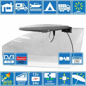 HELIO-MOBIL-Digital-Omni-Ditectional-TV-FM-DAB-Aerial-for-Motorhome-Boat-Truck