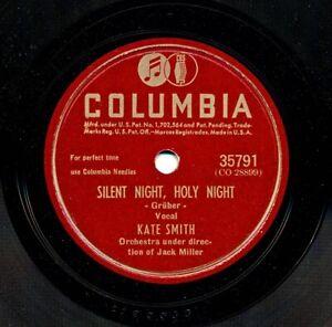 KATE-SMITH-on-1940-Columbia-35791-Silent-Night-Holy-Night-Adeste-Fidelis