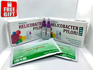 Details About Helicobacter H Pylori Test Stomach Ulcer Home Kit 2 Tests