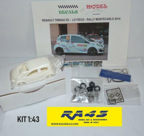 1//43 Renault Twingo R2 Rally Montecarlo 2014 Lo Fiego  Kit